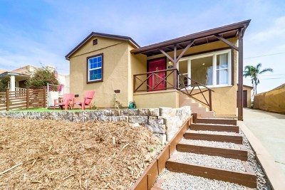 San Diego Single Family Home For Sale: 339 Southlook Ave.
