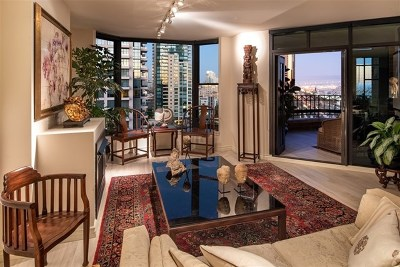 San Diego Condo/Townhouse For Sale: 500 W Harbor Drive #1217