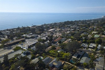 Del Mar Single Family Home For Sale: 329 9th Street