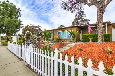 Chula Vista Single Family Home For Sale: 125 H St