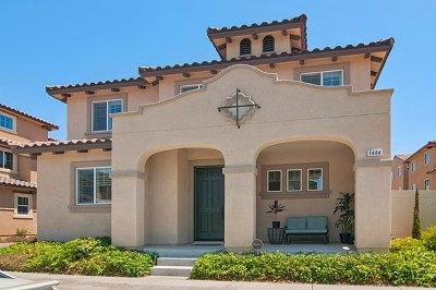 Chula Vista Single Family Home For Sale: 1484 Carpinteria