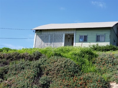 San Diego Single Family Home Active Under Contract: 1444 Gibson