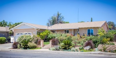 San Diego Single Family Home For Sale: 12628 Rios Rd