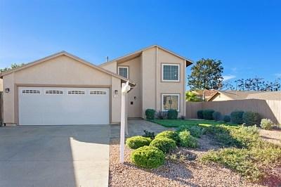 El Cajon Single Family Home For Sale: 13843 Avenida Del Charro