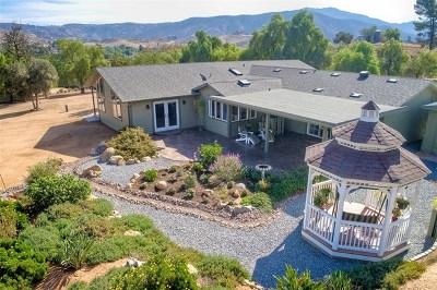 El Cajon Single Family Home For Sale: 1974 Harbison Canyon Road