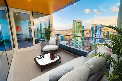 San Diego Condo/Townhouse For Sale: 888 W E #3006