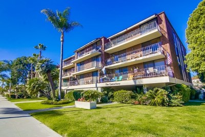Coronado Condo/Townhouse For Sale: 200 Orange Ave #102
