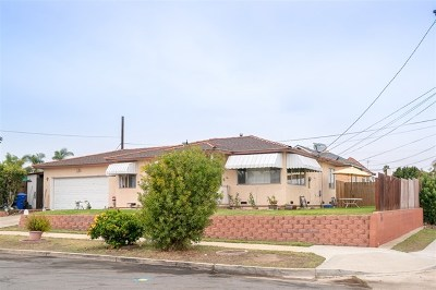National City Multi Family Home For Sale: 1129 E 5th Street