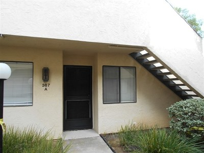 Vista Condo/Townhouse For Sale: 367 N Melrose Dr. #A