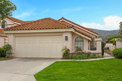 Vista Single Family Home For Sale: 28774 Vista Valley Drive