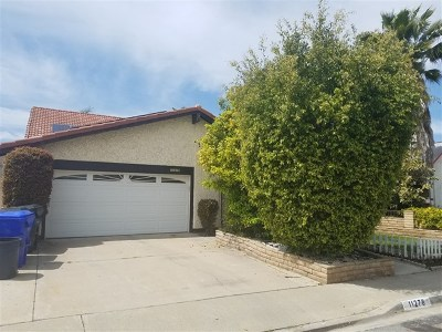 San Diego Single Family Home For Sale: 11278 Squamish Rd