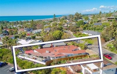 Solana Beach Single Family Home For Sale: 335 Hilmen
