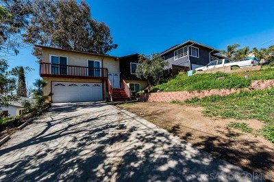 Spring Valley Single Family Home For Sale: 1036 Maria Ave