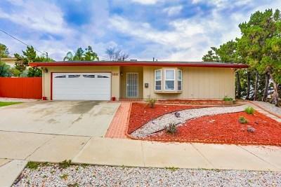 El Cajon Multi Family Home For Sale: 1691 Bartram Way