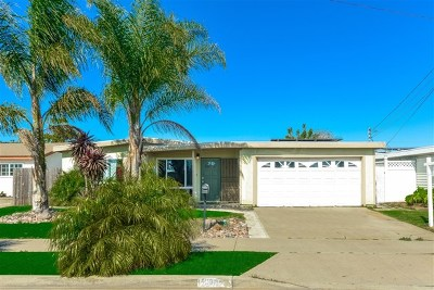 Imperial Beach Single Family Home For Sale: 818 Hemlock