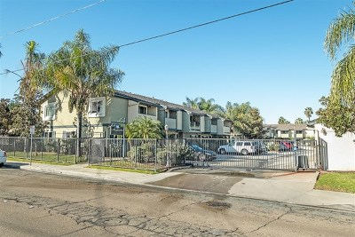 El Cajon Condo/Townhouse For Sale: 910 S Magnolia Ave #E