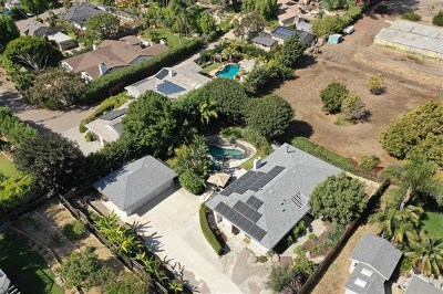 Encinitas Single Family Home For Sale: 1636 Burgundy Road