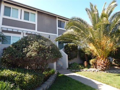 Imperial Beach Condo/Townhouse For Sale: 1458 15th St.