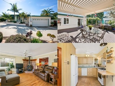 Vista Single Family Home For Sale: 1329 Foothill Dr