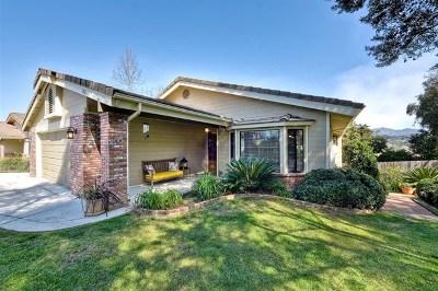 Vista Single Family Home For Sale: 1221 Sandra Circle