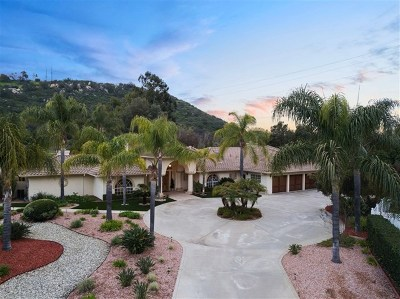 Poway Single Family Home For Sale: 13859 Country Creek Rd