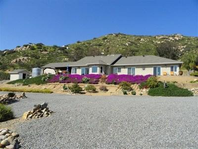 El Cajon Single Family Home For Sale: 1074 Willson Road