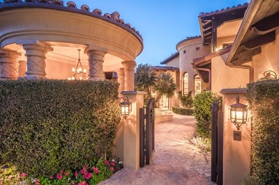 Rancho Santa Fe Single Family Home For Sale: 18302 Calle Stellina