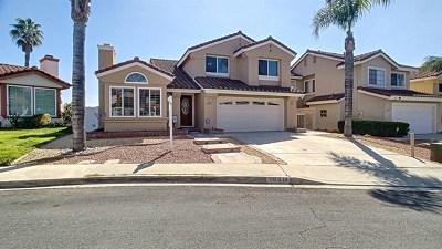 El Cajon Single Family Home For Sale: 11814 Via Hacienda