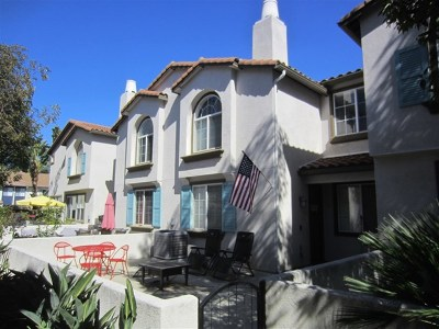 Oceanside Condo/Townhouse For Sale: 310 Sunset Way #3