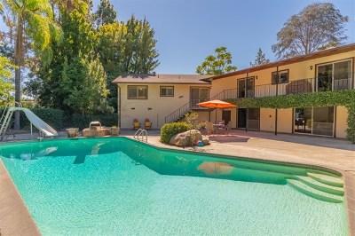 La Mesa Single Family Home For Sale: 10085 Grandview Dr