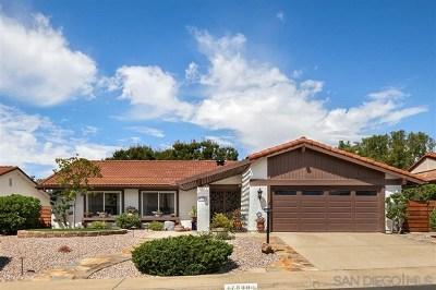 San Diego Single Family Home For Sale: 17890 Plaza Valdivia