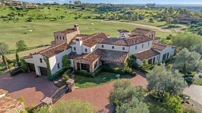 San Diego Single Family Home For Sale: 8325 Santaluz Pt