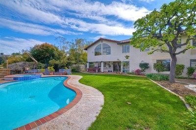 Carlsbad Single Family Home For Sale: 2836 Cacatua