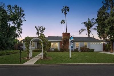 El Cajon Single Family Home For Sale: 484 Silvery Ln
