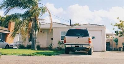 Chula Vista Single Family Home For Sale: 290 Whitney