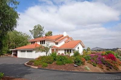 El Cajon Single Family Home For Sale: 2219 Greenfield Drive