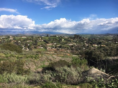 Fallbrook Residential Lots & Land For Sale: Mission Rd S