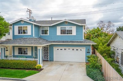 El Cajon Single Family Home For Sale: 785 Mayberry Ln