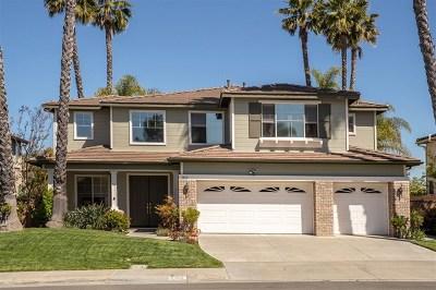 Carlsbad Single Family Home For Sale: 3452 Corte Sonrisa