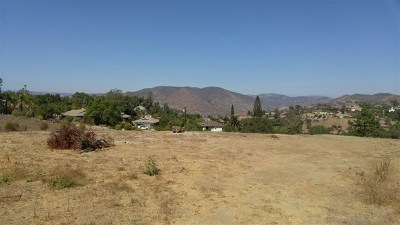 Fallbrook Residential Lots & Land For Sale: Riverview Dr.