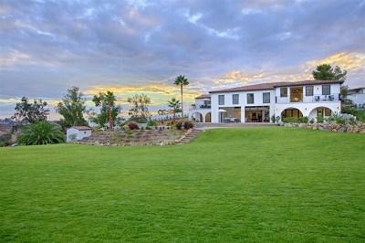 San Diego Single Family Home For Sale: 16550 Artesian Hills Ct.