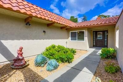 El Cajon Single Family Home For Sale: 233 Dewane Dr
