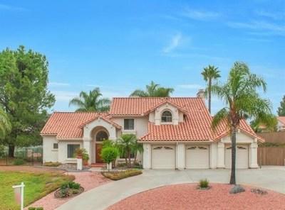 Alpine CA Single Family Home For Sale: $739,000