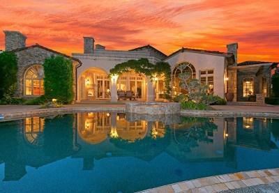 Rancho Santa Fe Single Family Home For Sale: 18310 Calle La Serra