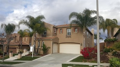San Diego Single Family Home For Sale: 12833 Hideaway Ln