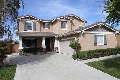Oceanside Single Family Home For Sale: 2220 Bliss Circle
