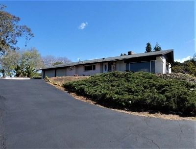 Fallbrook Single Family Home For Sale: 1526 Linda St