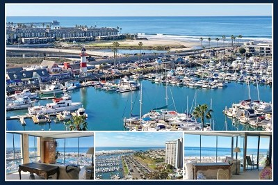 Oceanside Condo/Townhouse For Sale: 1200 Harbor Dr N #11A