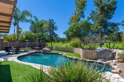 San Diego Single Family Home For Sale: 17312 Bernardo Oaks Drive