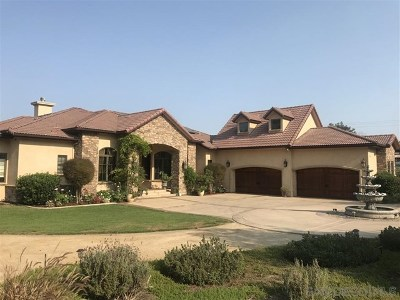 Bonita Single Family Home For Sale: 3340 El Rancho Grande
